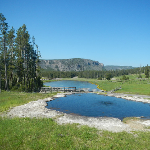 Terrace Springs, Yellowstone National Park