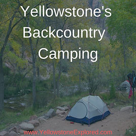 Resources Yellowstone Backcountry Campin