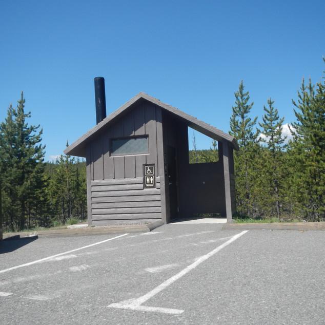 Iron Springs Picnic Area in Yellowstone.