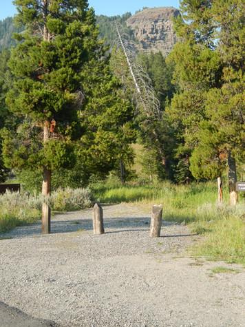 Pebble Creek Campground Campsite.JPG