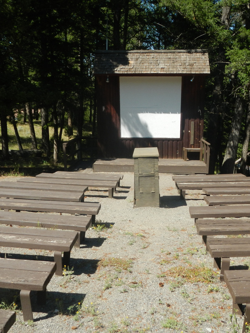 Amphitheater at Tower Fall Campground.JP