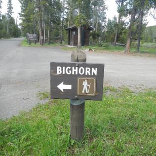 Indian Creek Campground Bighorn Trailhea