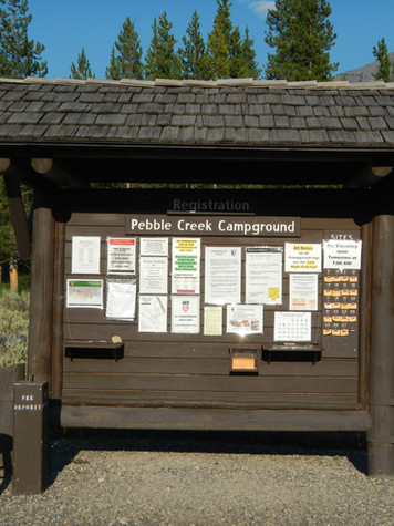 Pebble Creek Campground Sign.JPG