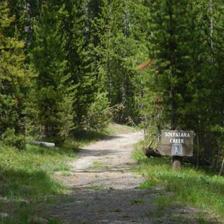 Norris Campground Solfatara Creek Trailh