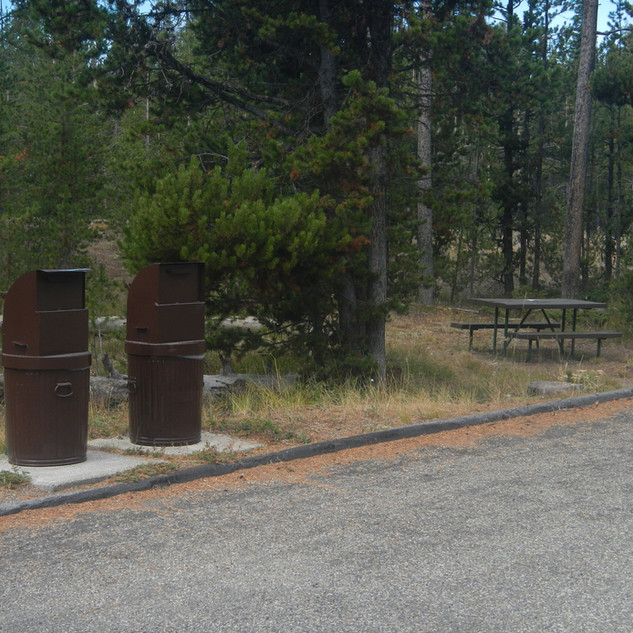 Sand Point Picnic Area Trash Bins.JPG
