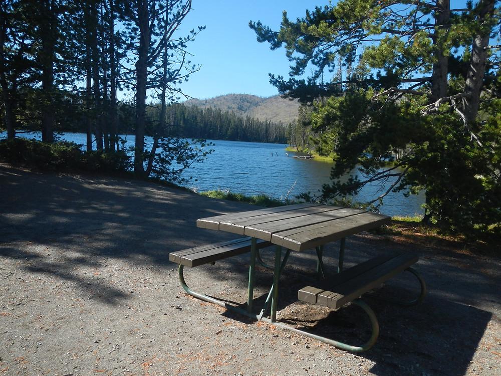 Sylvan Lake Picnic Area, Yellowstone