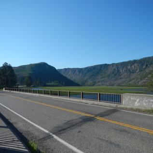 Seven Mile Bridge in Yellowstone National Park