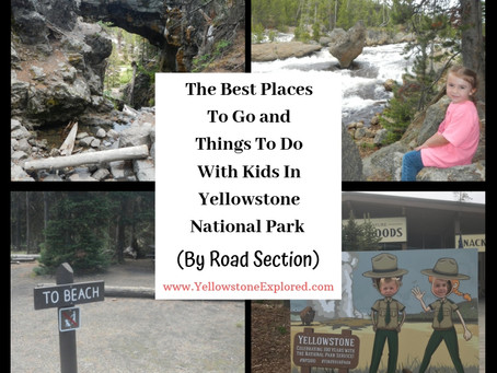 Best Places to Go and Things to do with Kids in Each of Yellowstone's 14 Road Sections