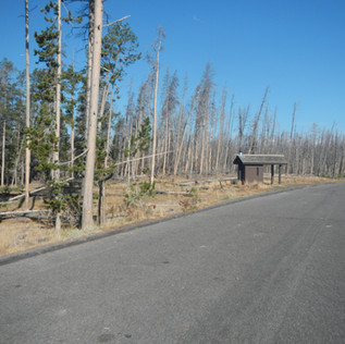 Hard Road To Travel Picnic Area Parking.