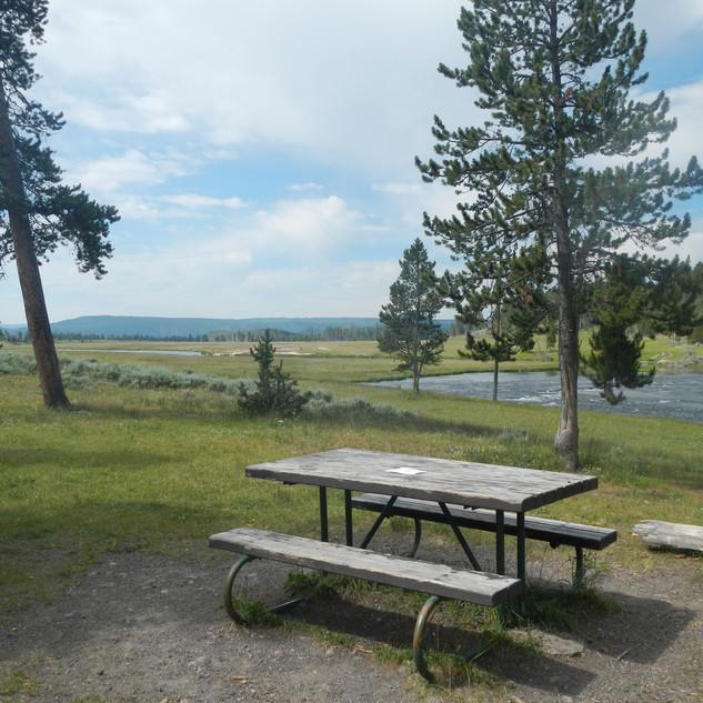 Nez Perce Picnic Area Table.JPG