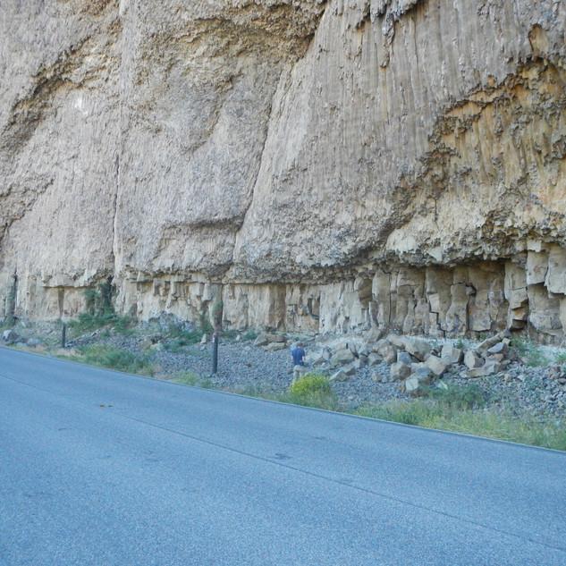 Overhanging Cliff Yellowstone.JPG
