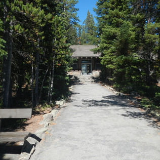 Fishing Bridge Visitor Center Back View.