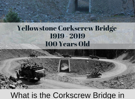 What is the Corkscrew Bridge in Yellowstone National Park?