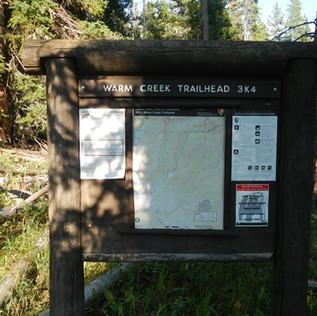 Warm Creek Trailhead Info Board.JPG