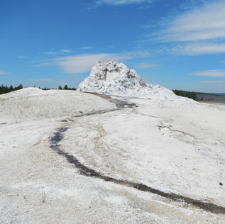 Firehole Lake Drive White Cone Geyser.JP