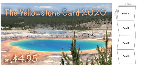 Yellowstone Explored Discount Card 2020.