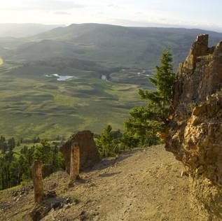 Petrified Forest Trailhead Yellowstone.j