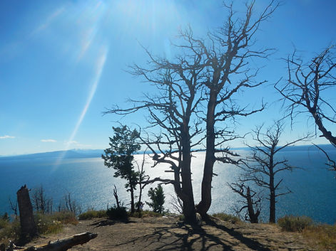 Lake Butte Overlook Yellowstone Lake.JPG