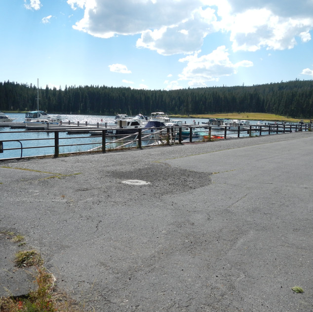 Boats at Bay Bridge Yellowstone.JPG