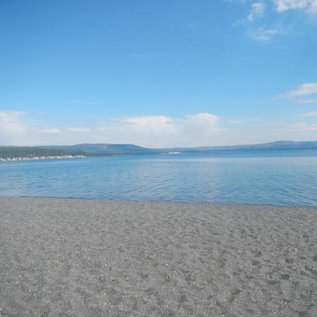 YNP Sand Point Picnic Area Beach.JPG