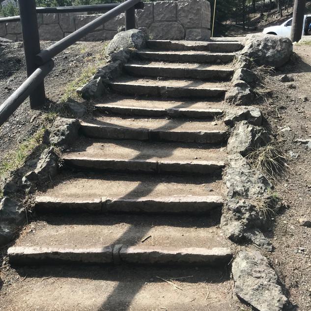 Undine Falls Steps.JPG