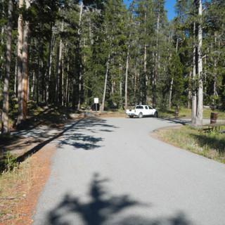 Sylvan Lake Picnic Area Parking.JPG