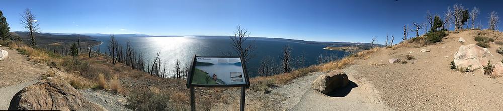 Lake Butte Overlook, Yellowstone Lake