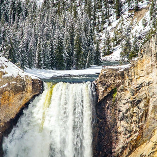 Lower Falls Of the Yellowstone River .JP