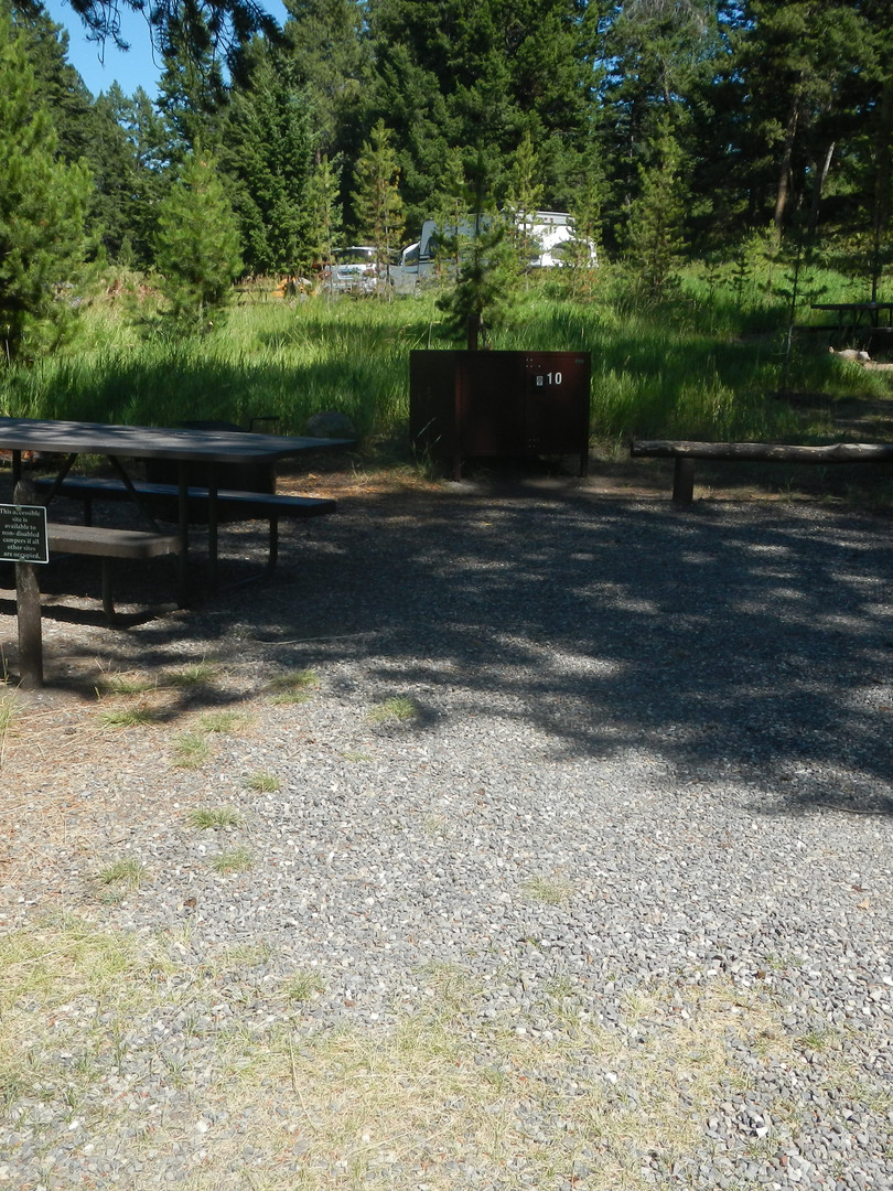 Tower Fall Campground Campsite.JPG