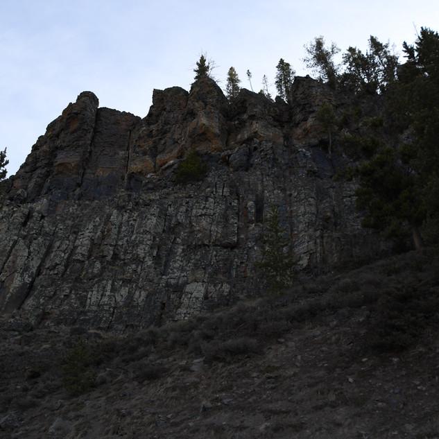 Obsidian Cliff Up Close.JPG
