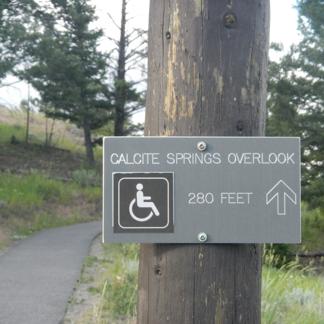 Calcicte Springs Wheelchair access.JPG