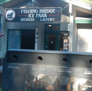 Fishing Bridge RV Campground Yellowstone