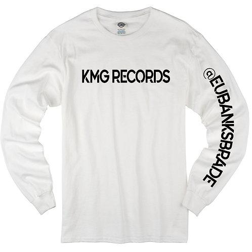 Long Sleeve KMG|White/Black