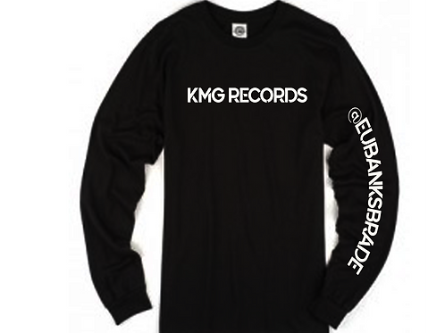 Long Sleeve KMG |Black/White