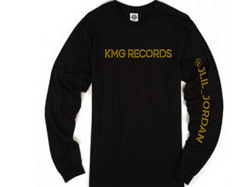 Long Sleeve KMG|Black/Gold(Metallic)