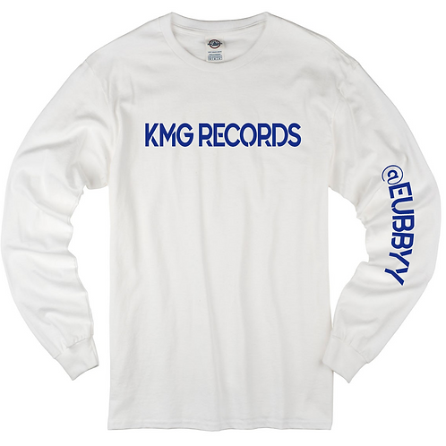 Long Sleeve KMG| White/Blue