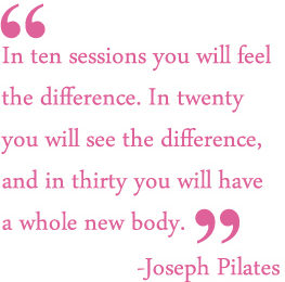 Why You Should Start Pilates!