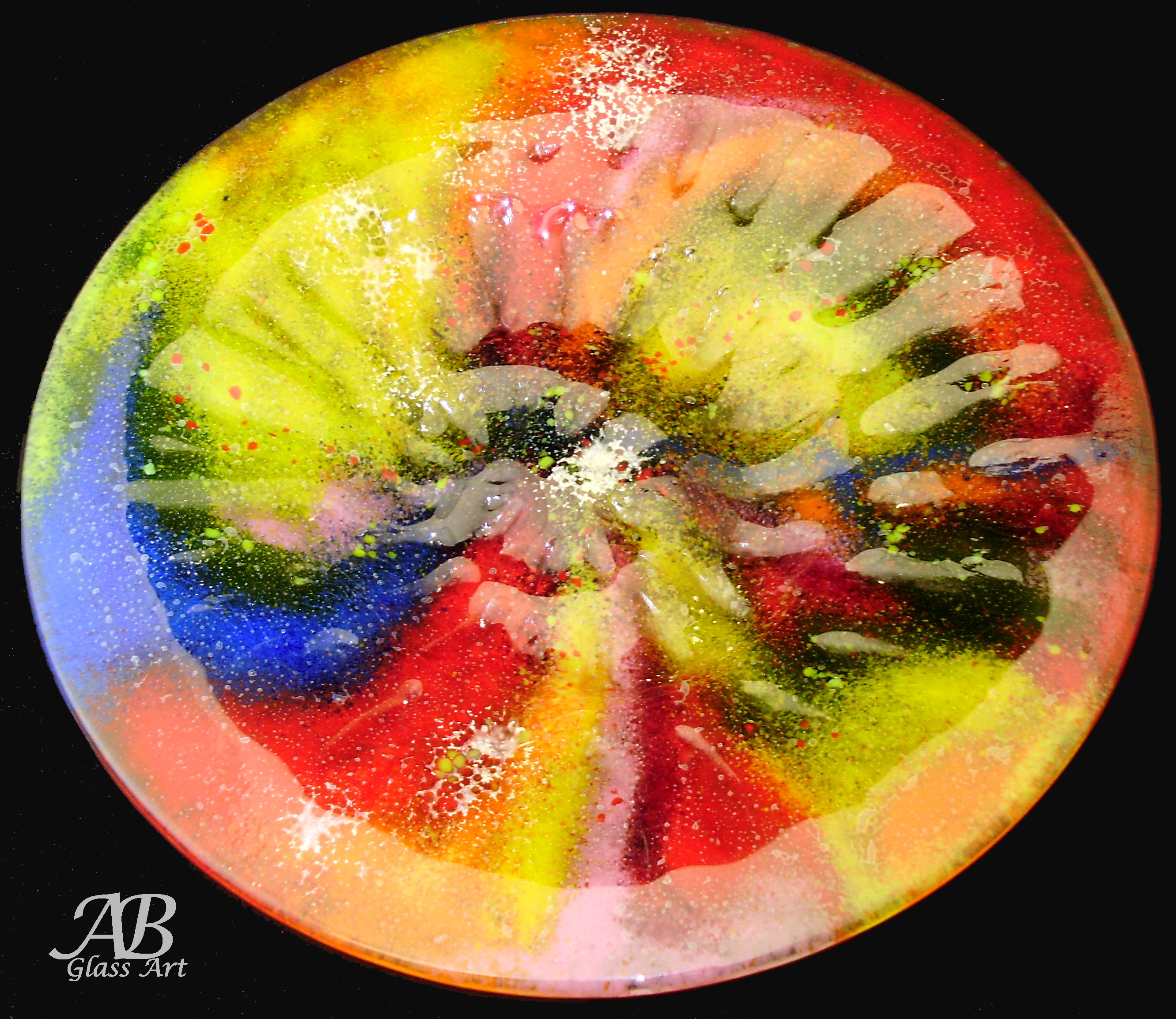 Rainbow Ammonite