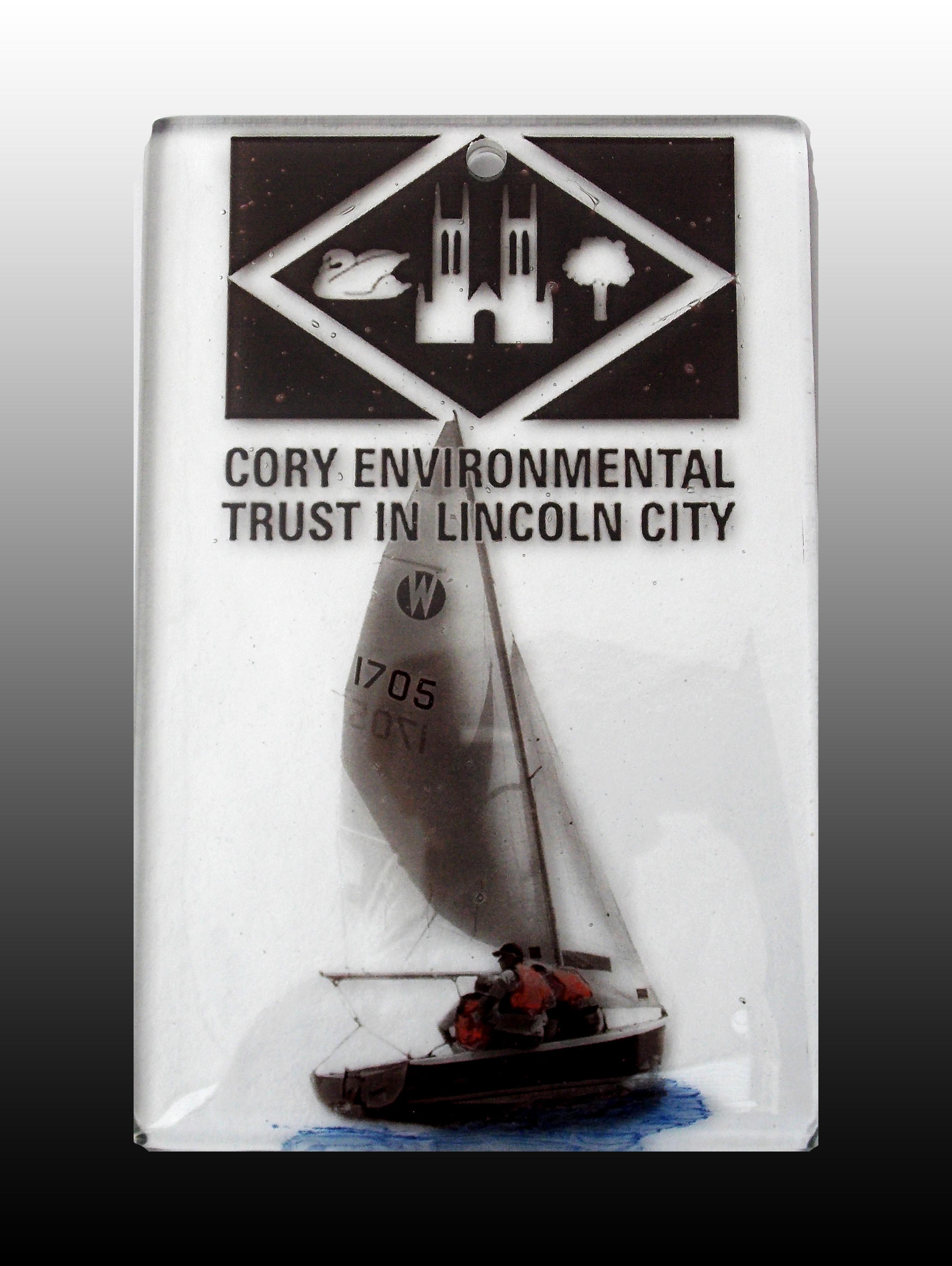 Cory Trust Plaque - Hykeham Sailing Club