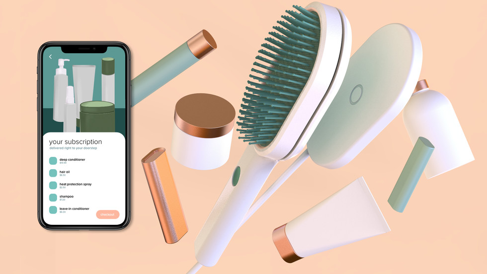 Allure - Smart Hairbrush