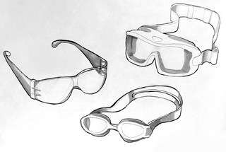Goggle Sketches