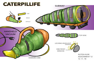 Caterpillar-Inspired Products