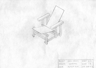 Isometric View Chair