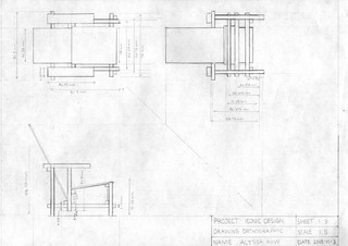 Orthographic View Chair