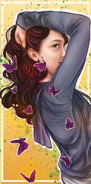 Butterfly Hair