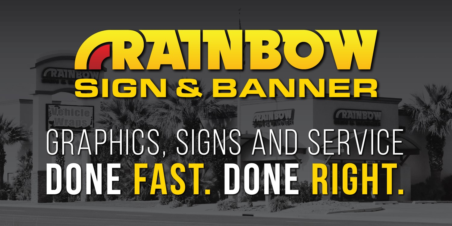 Rainbow Sign & Manner