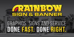 Rainbow Sign & Manner