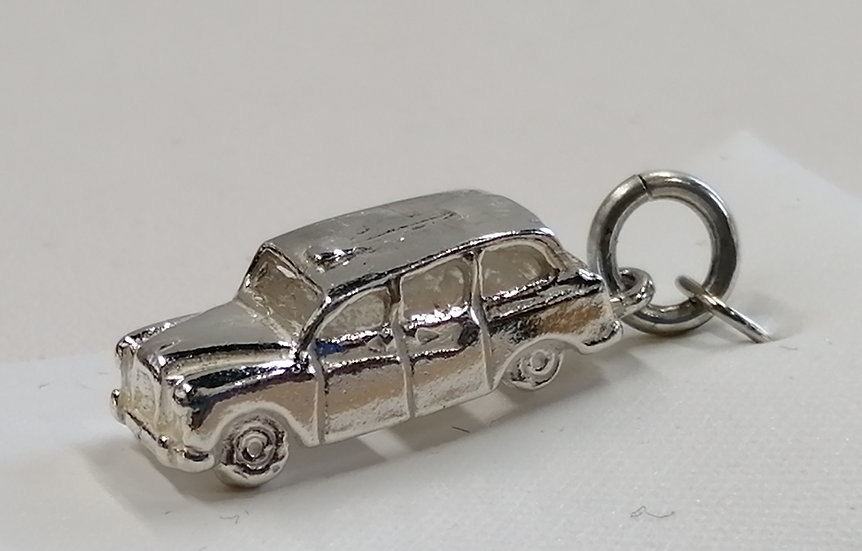 925 Sterling Silver Car Charm