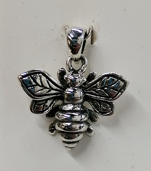 925 Sterling Silver Bee Charm