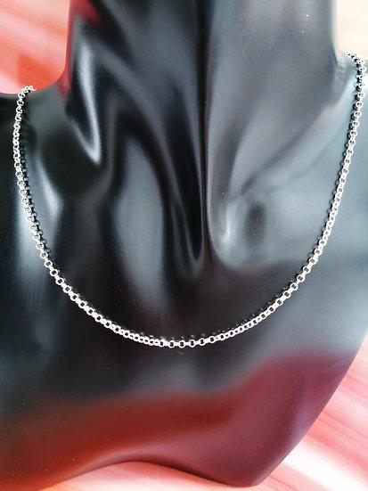 925 Silver Solid D/C Belcher Chain